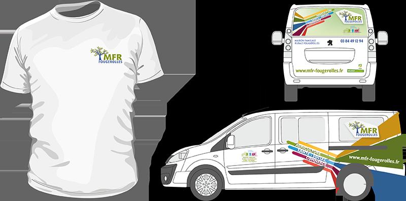 MFR Textile et marquage véhicule