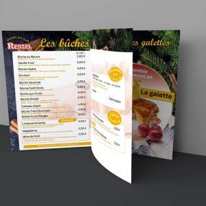 Brochure boulangerie