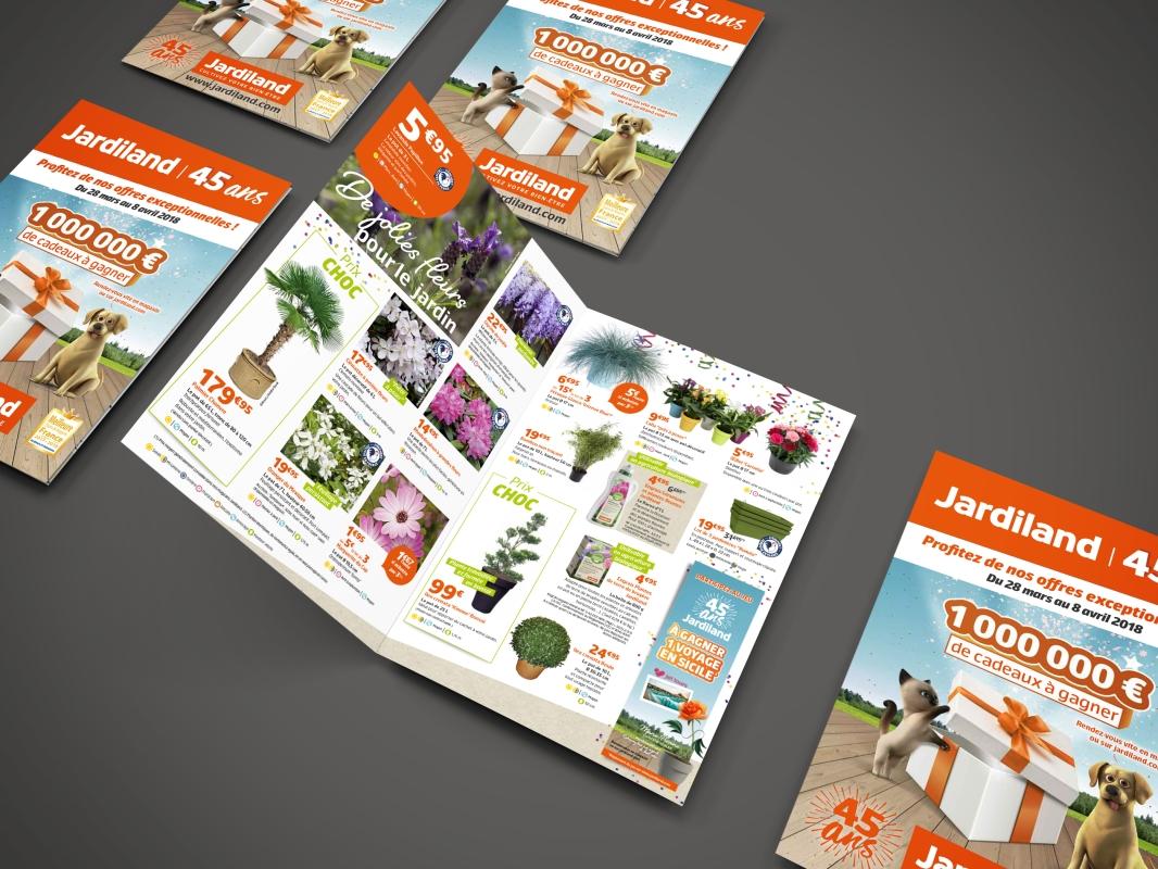 brochure jardinerie