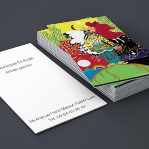 Cartes de visite artiste peintre