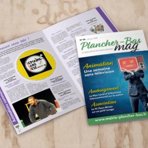 Bulletin municipal Plancher-bas