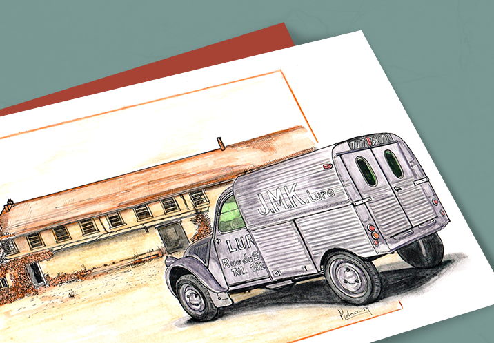 carte postale Rami