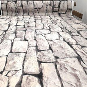 Décor mural sur textile