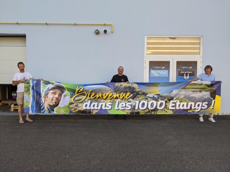 Banderolle 1000 étangs