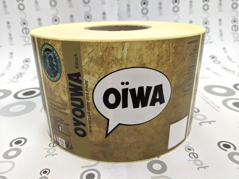 Etiquette bière Oyouwa